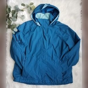 LL BEAN Large Rain Jacket Shell